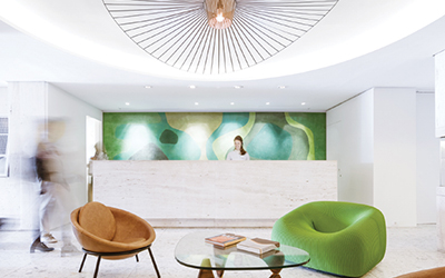 22 Cool & Captivating Hotel Lobbies Without Going Overboard